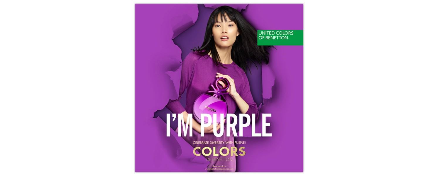 Benetton Colors Purple